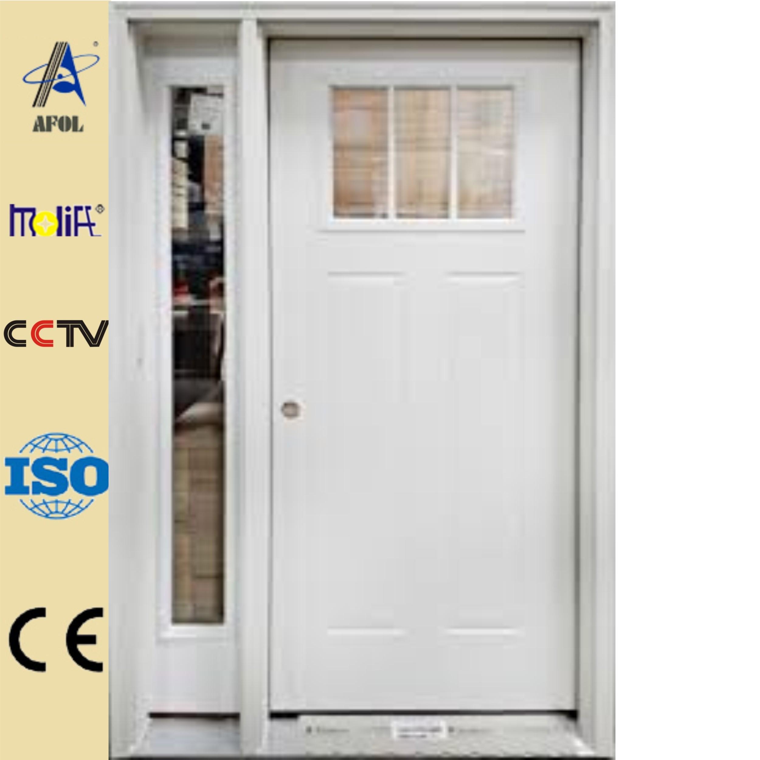 American 30 X 78 Exterior Steel Door